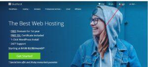 Bluehost best web hosting