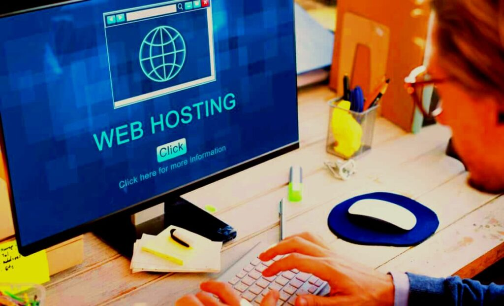 Buy domain name and web hosting